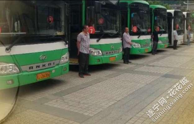 遂宁公交前后对比照,变化正大呀图片